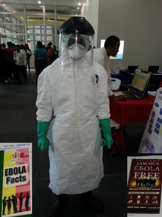 FMS - Annual Research Conference Ebola Awareness Booth